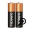 2DB Duracell AA ceruza elem