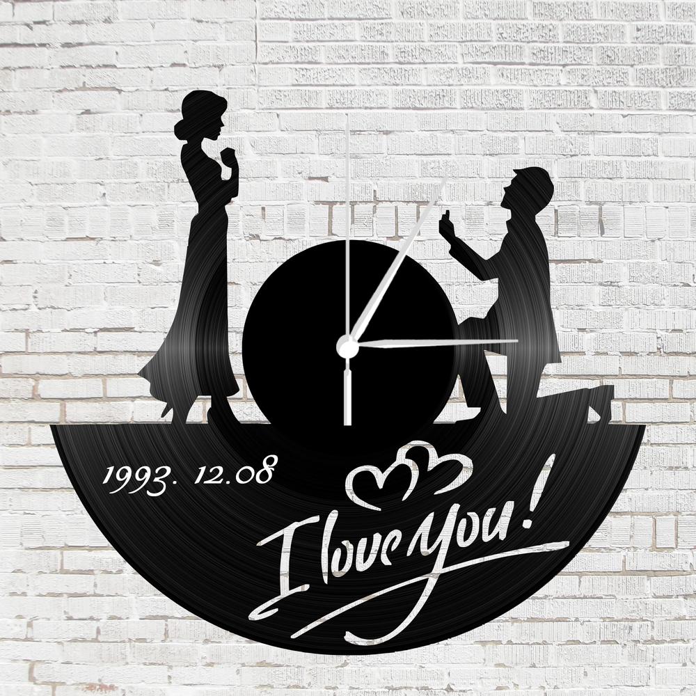 Bakelit óra szerelmeseknek - lánykérős  a27002f427