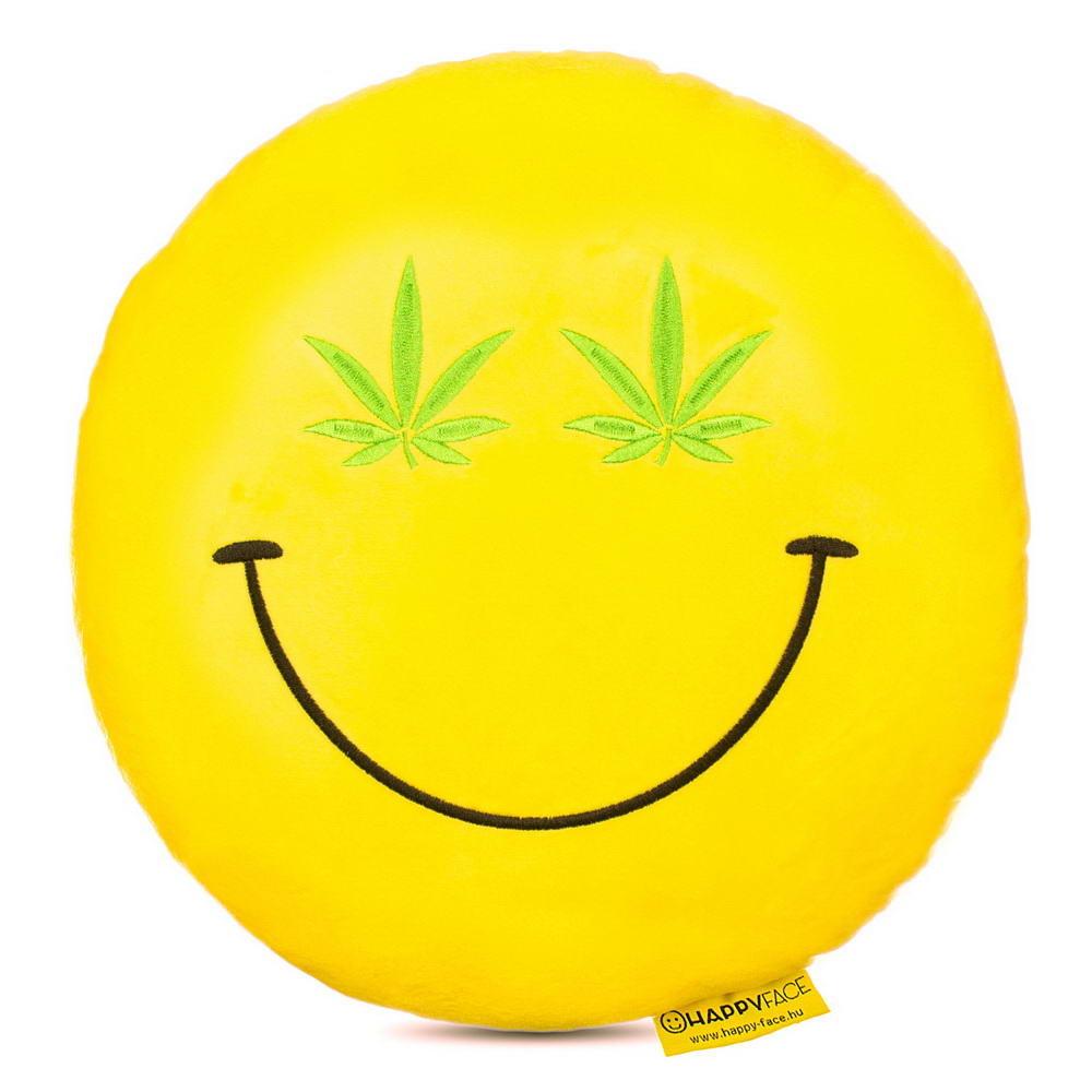 Cannabis emoji párna  4bd70f46f4