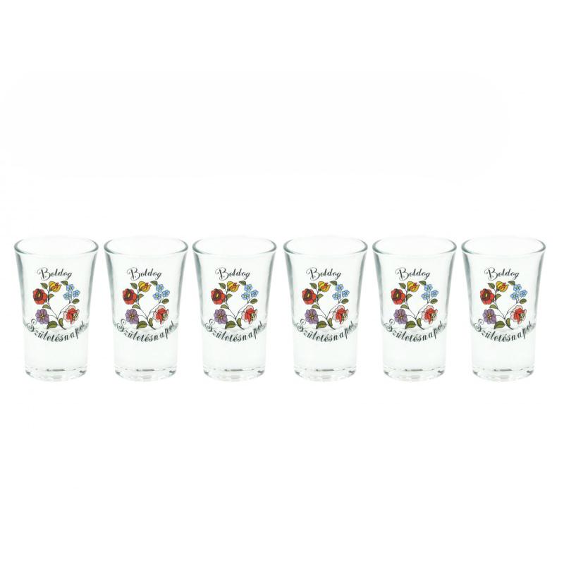 288f7b9d92 Pálinkás pohár szett Születésnapra - 6 darabos | Praktikus ajándékok ...