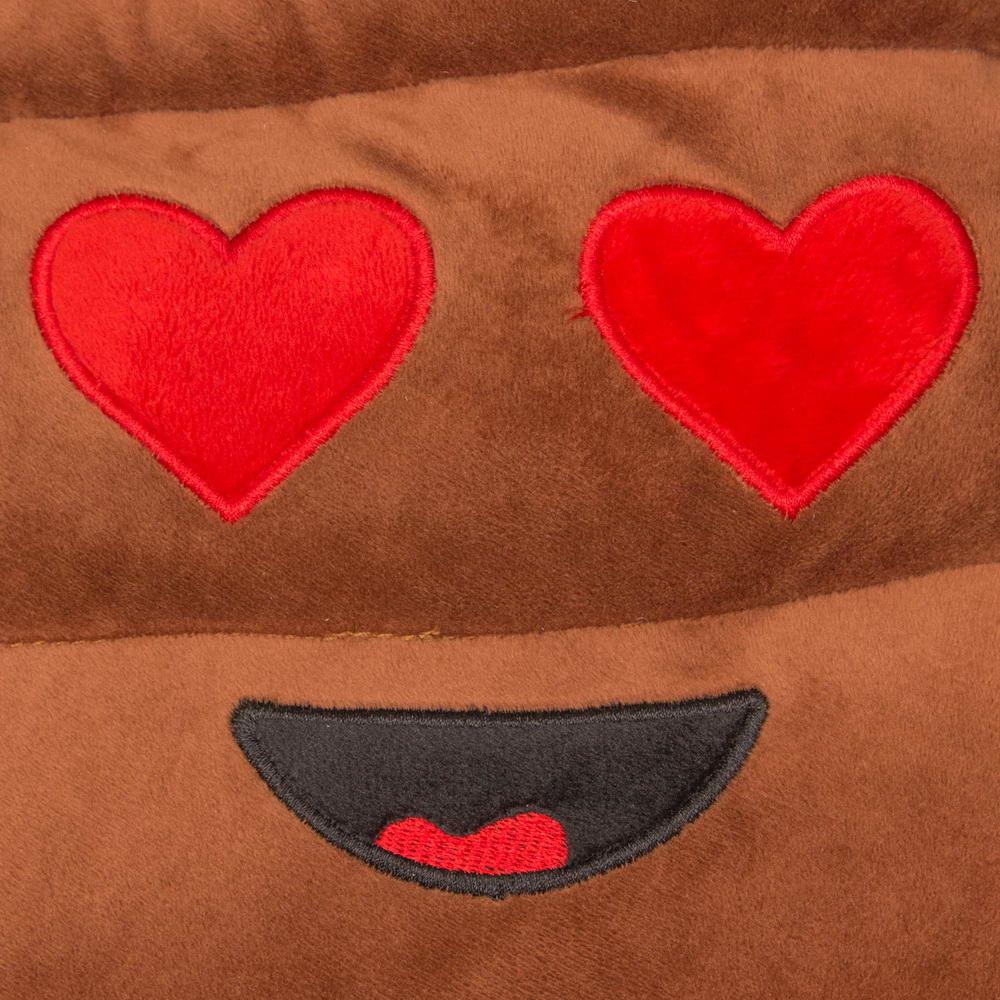 Szerelmes kaki emoji párna  4af98386ad