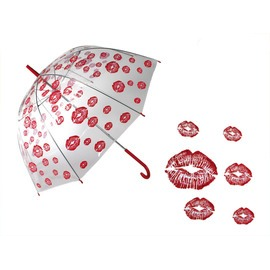Átlátszó esernyő - csókos