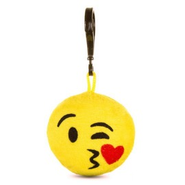 Csókos emoji kulcstartó