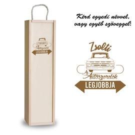 Fa bortartó doboz - Autószerelő