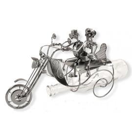 Fém bortartó motoros pár