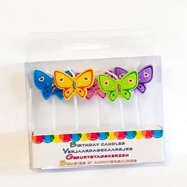 Gyertya szett gyerekeknek - Pillangók