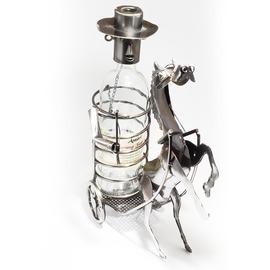 Fém lovas bortartó
