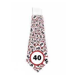 Sebességkorlátozó nyakkendő - 40