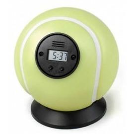 Falhoz vágható teniszlabda ébresztőóra