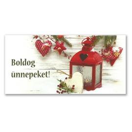Üdvözlőlap karácsony
