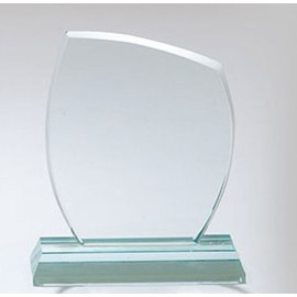 Üveg díj - Trófea