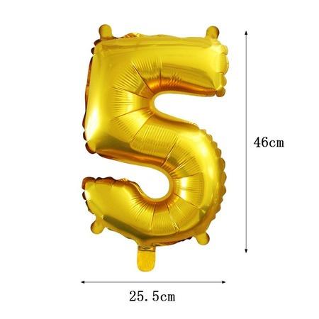 Számos fólia lufi - 5