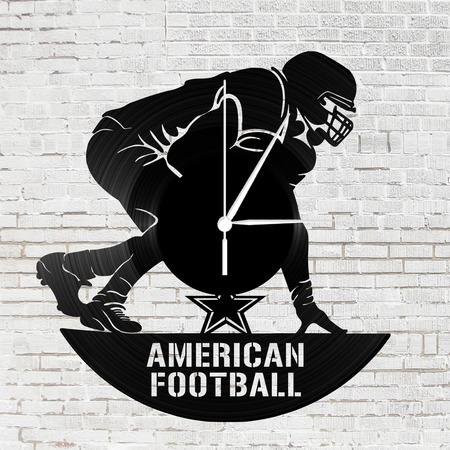 Bakelit óra - Amerikai foci