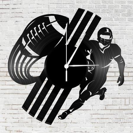 Bakelit falióra - Amerika futball