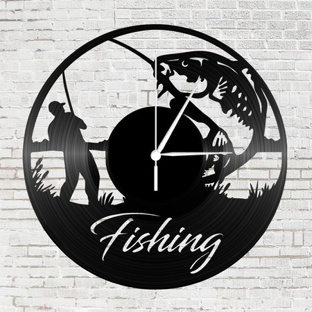 Bakelit óra - Fishing