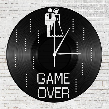 Bakelit óra - game over