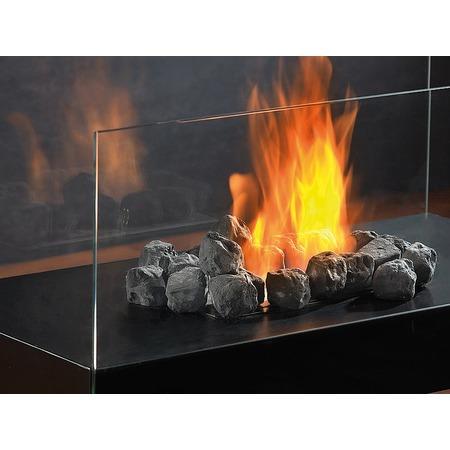 Biokandalló kellék: szén dekoráció