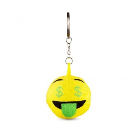Dollár emoji kulcstartó