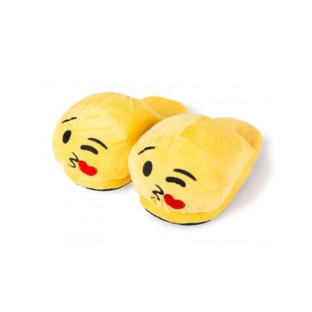 Emoji papucs - Csókos (felnőtt)