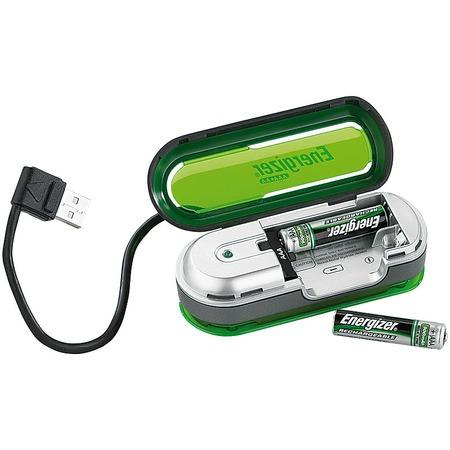 Energizer usb-s elem töltő 2 elemmel