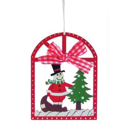 Hóember karácsonyfadísz