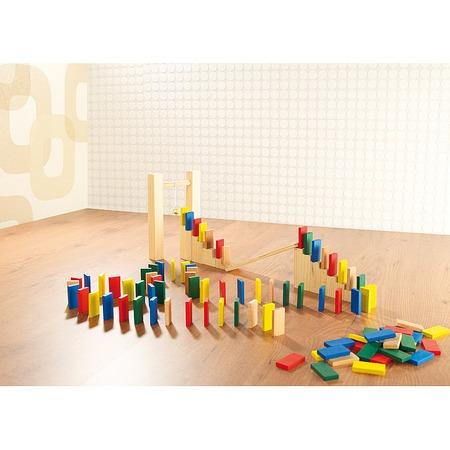 Fa színes dominók gyerekjáték
