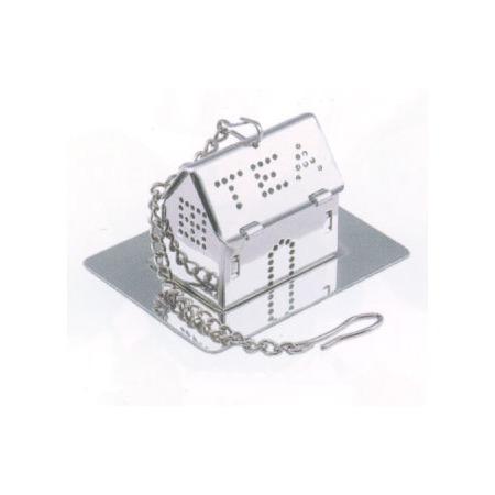 Házikó formájú teafilter