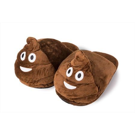 Kaki papucs emoji (felnőtt)