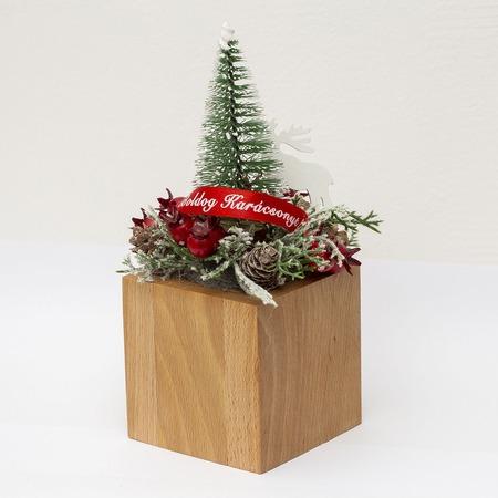 Karácsonyi asztali dísz