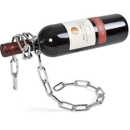 Ezüst lánc bortartó