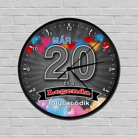 Legendás születésnapi óra 20