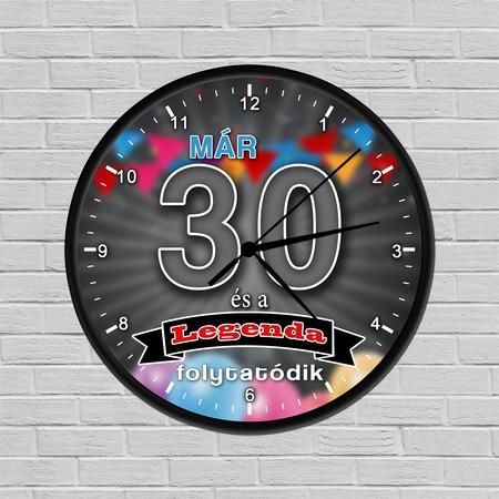 Legendás születésnapi óra 30