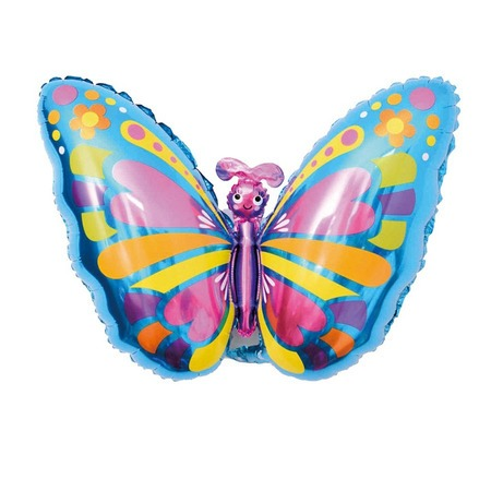 Pillangó fólia lufi héliumhoz