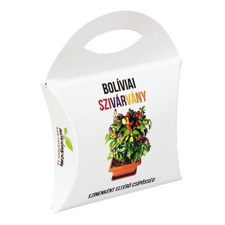Bolíviai szivárvány chili paprika magok díszdobozban