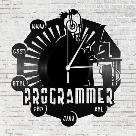 Bakelit falióra - Programozó