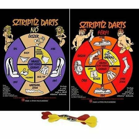 Sztriptíz Party darts