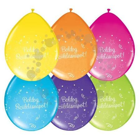 Boldog Születésnapot! lufi - 5db