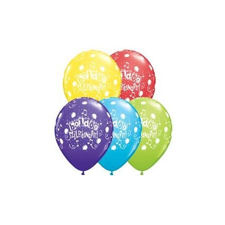 Boldog Születésnapot! színes lufi - 5db