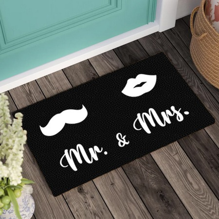 Lábtörlő – Mr. és Mrs.