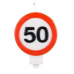 Sebességkorlátozós gyertya 50