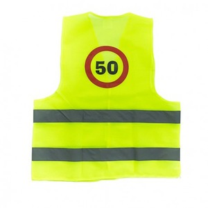 Láthatósági mellény - 50. szülinap