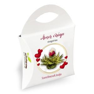 Ámor virága virágzó tea