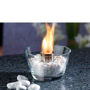 Asztali üveg bioégő