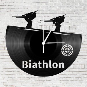 Bakelit óra - Biatlon