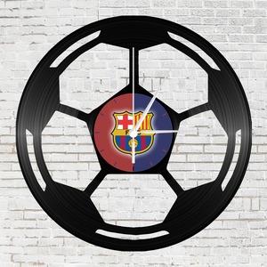 Szurkolói Barcelona focilabda bakelit falióra