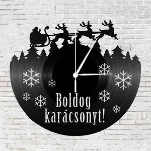 Bakelit óra - karácsony