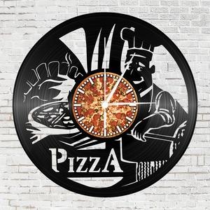 Bakelit falióra - Pizza