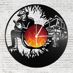 Bakelit falióra - tűzoltóknak