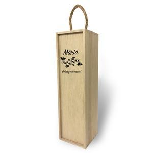 Fa bortartó doboz - Névnapra