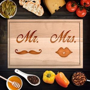 Mr. és Mrs. vágódeszka